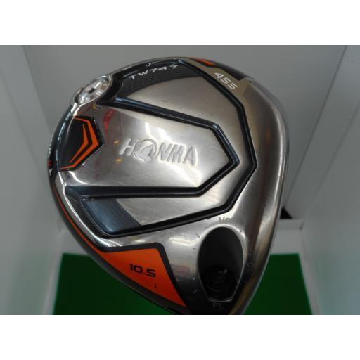 ホンマゴルフ ホンマ ツアーワールド ドライバー TW747 455 TOUR WORLD TW747 455 10.5° フレックスS 中古 Cランク
