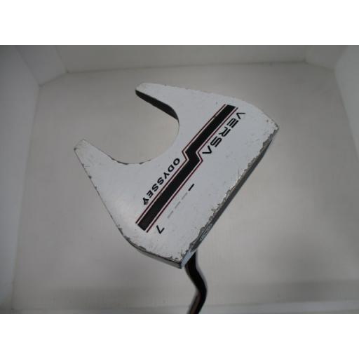 オデッセイ バーサ パター VERSA #7 ホワイト(ホリゾンタル) 33インチ 中古 Cランク