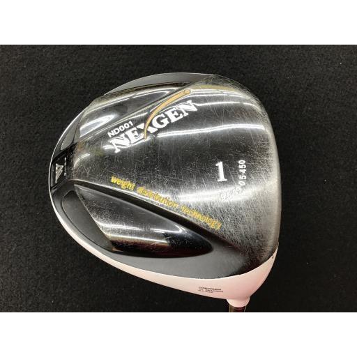 ゴルフパートナー ネクスジェン ネクストジェン ドライバー ND-001 ホワイト NEXGEN ND-001 ホワイト 9.5° フレックスS 中古 Cランク