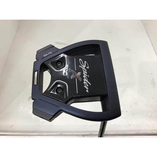 テーラーメイド Spider X パター 青/白い シングルベンド Spider X 青/白い シングルベンド 34インチ 中古 Cランク