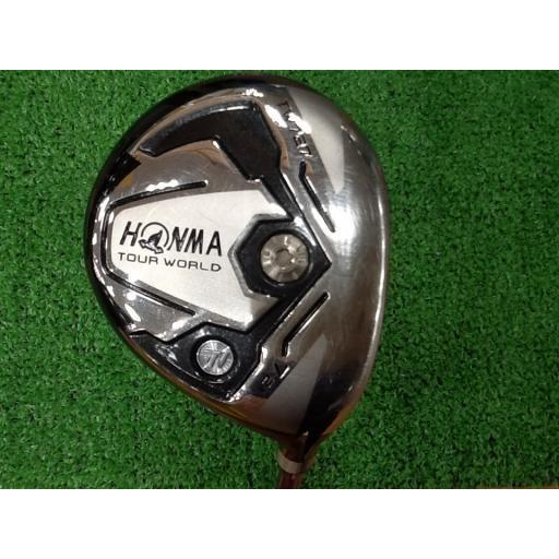 ホンマゴルフ ツアーワールド ホンマ HONMA フェアウェイウッド TOUR WORLD TW727 7W フレックスS 中古 Bランク