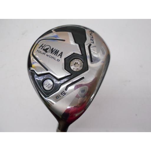 ホンマゴルフ ツアーワールド ホンマ HONMA フェアウェイウッド TOUR WORLD TW727 5W フレックスS 中古 Cランク
