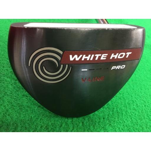 オデッセイ ホワイトホットプロ パター 白い HOT PRO V-LINE 2.0 34インチ 中古 Cランク