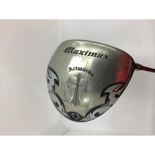 ワークスゴルフ アクトワークス ドライバー MAXIMAX(2014) Actworks MAXIMAX(2014) 9.5°(47インチ) フレックスS 中古 Cランク
