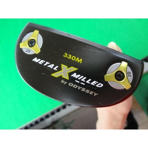 オデッセイ メタルX ミルド パター METAL-X MILLED 330M 34インチ 中古 Cランク