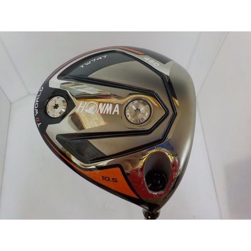 ホンマゴルフ ホンマ ツアーワールド ドライバー TW747 460 TOUR WORLD TW747 460 10.5° フレックスS 中古 Bランク
