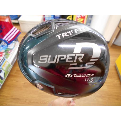 ゴルフプランナー トブンダ ドライバー TRY FIT SUPER D TOBUNDA TRY FIT SUPER D 11.5° フレックスR 中古 Cランク