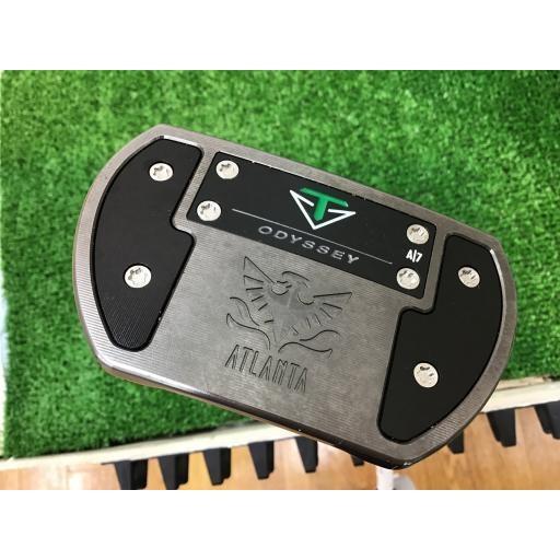 オデッセイ トゥーロンデザイン パター ATLANTA(ショートスラント) TOULON DESIGN ATLANTA(ショートスラント) 34インチ USA 中古 Cランク