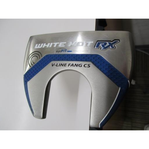 オデッセイ ホワイトホット パター WHITE HOT RX #7 33インチ 中古 Cランク