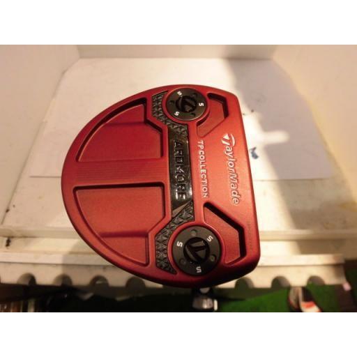 テーラーメイド TPコレクション レッド アードモア マレット パター TP COLLECTION RED ARDMORE 2 33インチ 中古 Bランク