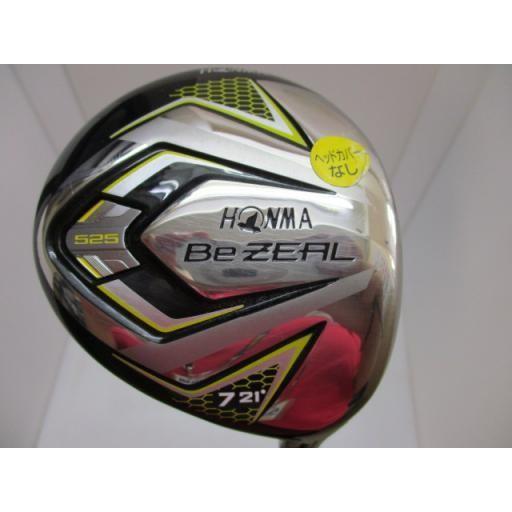 ホンマゴルフ ビジール ホンマ HONMA フェアウェイウッド Be ZEAL 525 7W フレックスSR 中古 Cランク