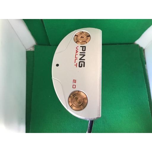 ピン PING パイパー パター VAULT 2.0 PIPER プラチナム(345g) 33インチ(PP61グリップ) 中古 Cランク
