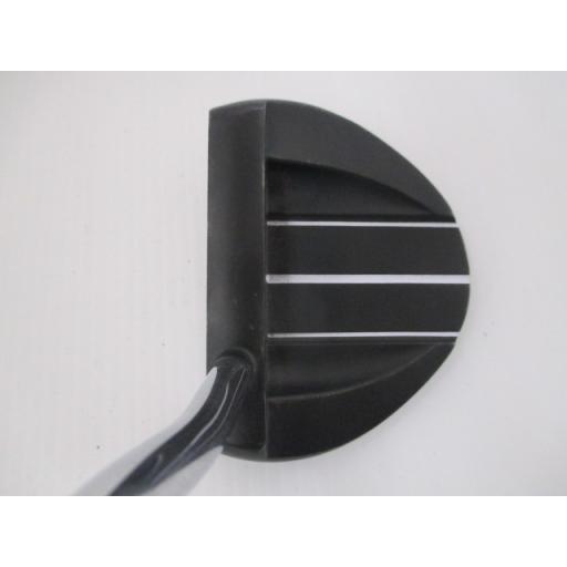 オデッセイ ホワイトホット プロ パター V-LINE 2.0 ブラック 白い HOT PRO V-LINE 2.0 ブラック 33インチ 中古 Dランク