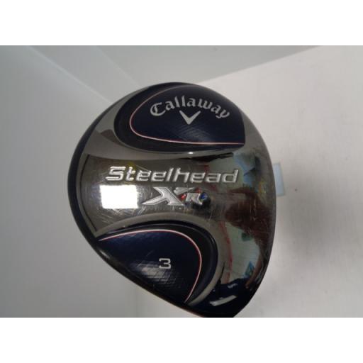 キャロウェイ スチールヘッド フェアウェイウッド STEELHEAD XR 3W フレックスS 中古 Cランク