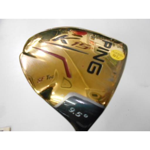 ピン PING K15 ドライバー K15 K15(ゴールド) 10.5° フレックスS 中古 Cランク