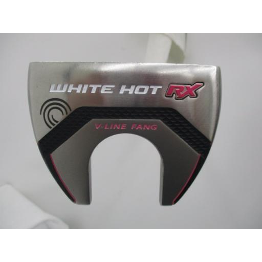 オデッセイ ホワイトホット パター WHITE HOT RX V-LINE FANG 32インチ レディース 中古 Cランク