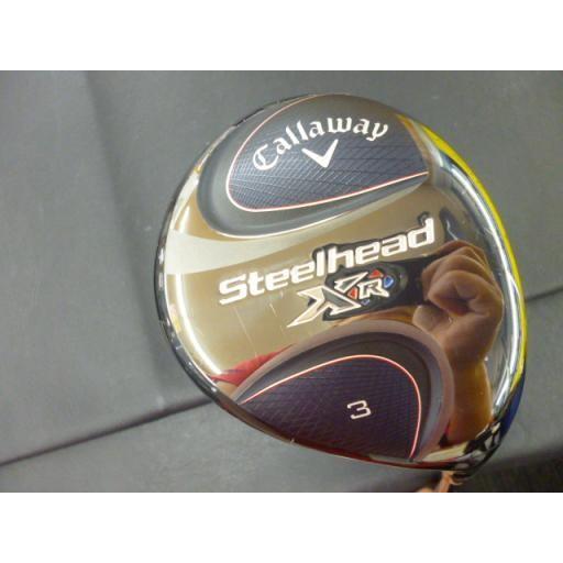 キャロウェイ スチールヘッド フェアウェイウッド STEELHEAD XR 3W フレックスSR 中古 Cランク