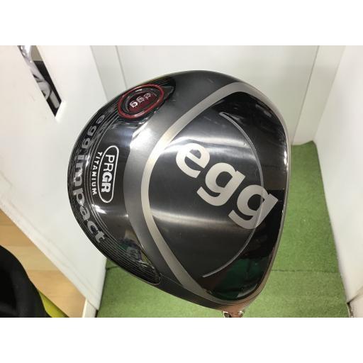 プロギア PRGR エッグ ドライバー impact egg impact 10.5° フレックスSR 中古 Cランク