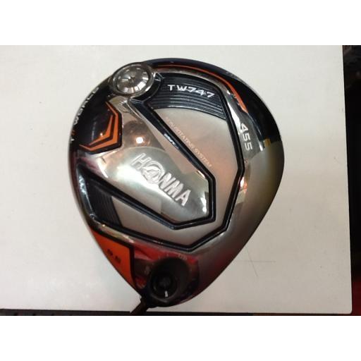 ホンマゴルフ ホンマ ツアーワールド ドライバー TW747 455 TOUR WORLD TW747 455 9.5° フレックスX 中古 Bランク