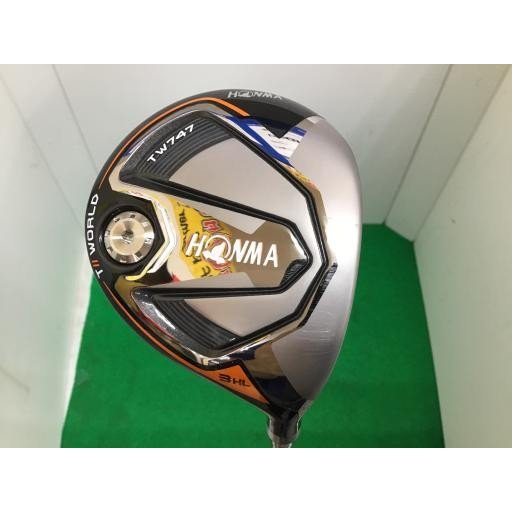 ホンマゴルフ ホンマ ツアーワールド フェアウェイウッド TW747 TOUR WORLD TW747 3HL フレックスS 中古 Bランク
