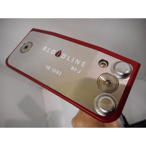 ブラッドライン BLOODLINE パター R1-J BLOODLINE R1-J 33インチ USA 中古 Bランク