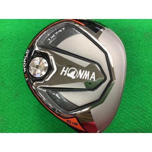 ホンマゴルフ ホンマ ツアーワールド フェアウェイウッド TW747 TOUR WORLD TW747 5W フレックスSR 中古 Cランク