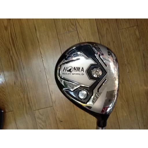 ホンマゴルフ ツアーワールド ホンマ HONMA フェアウェイウッド TOUR WORLD TW727 7W フレックスR 中古 Bランク