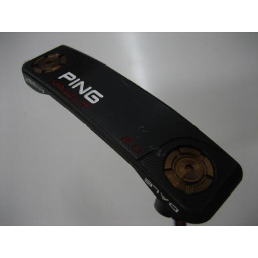 全商品オープニング価格! ピン PING ボルト デール アンサー パター VAULT 2.0 DALE ANSER ステルス(350g) 34インチ(PP60グリップ)  Cランク, ミシンのオズ 6caf5d41