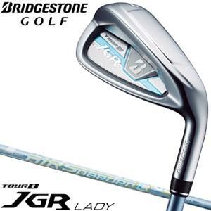 ブリヂストンゴルフ TOUR B JGR レディ アイアン 5本セット[#7-PW、SW] AiR Speeder L for Iron シャフト