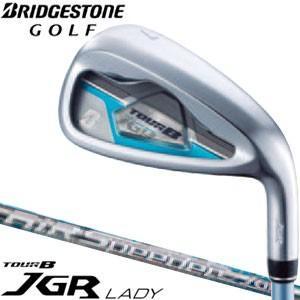 3000円クーポン対象 ブリヂストンゴルフ TOUR B JGR レディ アイアン 5本セット#7-PW、SW AiR Speeder JGR for Iron シャフト