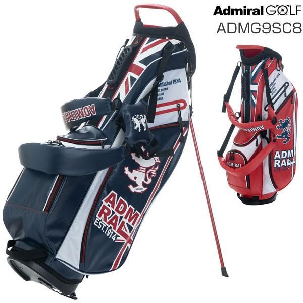 アドミラルゴルフ キャディバッグ ライトウェイト スタンドバッグ ADMG9SC8