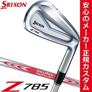 スリクソン Z785 アイアン N.S.PRO MODUS3 TOUR105 D.S.T. スチールシャフト 5本セット[#6-P] 特注カスタムクラブ