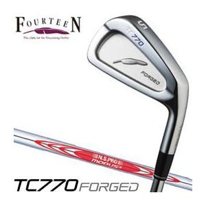 フォーティーン TC770 FORGED アイアン N.S.PRO MODUS3 TOUR 105シャフト 単品[#4]