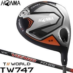 本間ゴルフ ツアーワールド TW747 455 ドライバー VIZARD FD6 シャフト