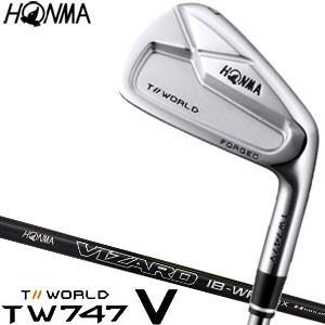 本間ゴルフ ツアーワールド TW747 V アイアン VIZARD IB100-WF シャフト 6本セット[#5-#10]