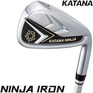 偉大な 今なら7%OFFクーポン発行中 カタナ NINJA アイアン 2020年モデル 5本セット[#6-P] KATANAオリジナルシャフト, セイナイジムラ 6cb099a9