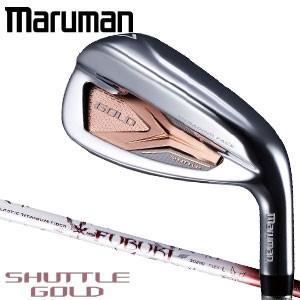 マルマン シャトル ゴールド レディース アイアン 4本セット[#7-9、PW] FUBUKI SG200 シャフト
