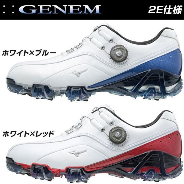 ミズノ ジェネム 008 ボア 2E メンズ ゴルフシューズ 51GP1800