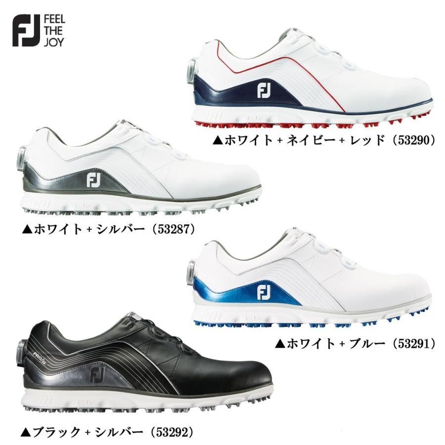 FOOTJOY フットジョイ PRO SL Boa プロ エスエル ボア スパイクレス メンズ ゴルフシューズ 日本正規品