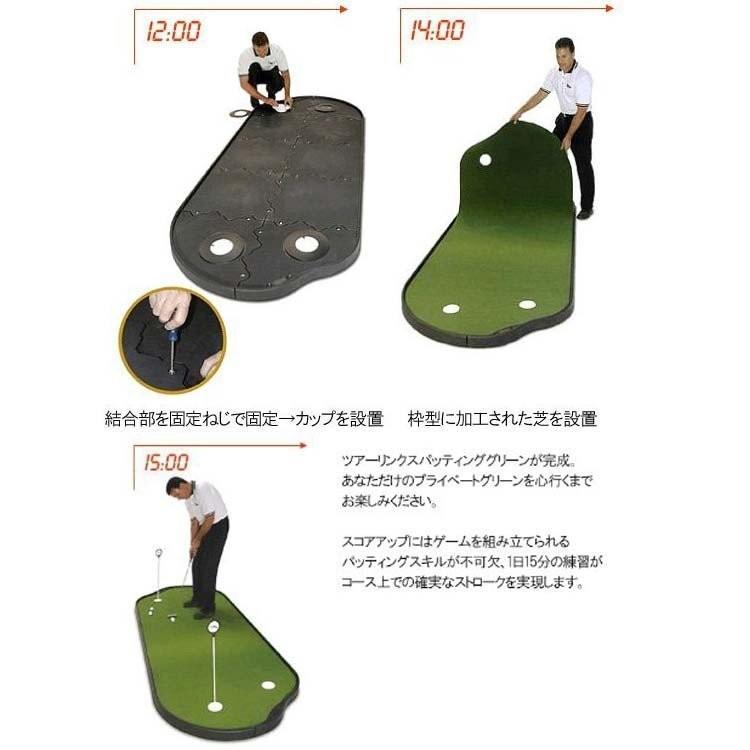 ライト LITE ゴルフ GOLF パター マット ツアーリンクス パッティング グリーン 4×10 フィート タイプ PG-10PP Z-127 golfshop-champ 05
