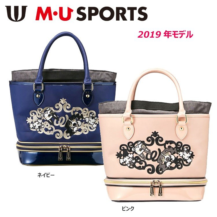 【2019年モデル】M・U SPORTS エムユースポーツ ミエコ・ウエサコ POCH ポーチ 703P1000
