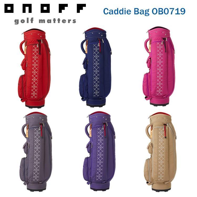 オノフ ONOFF キャディバッグ Caddie Bag OB0719