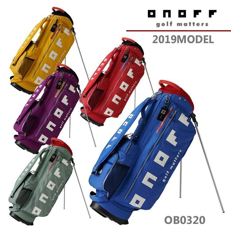 【2019年モデル】オノフ ONOFF スタンド キャディバッグ Stand Caddie Bag OB0320