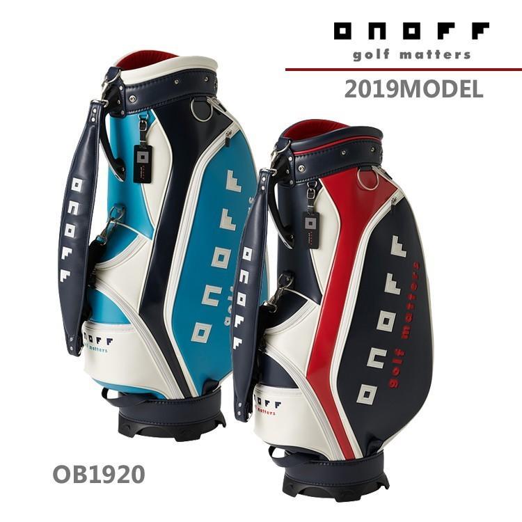 【2019年モデル】オノフ ONOFF キャディバッグ Caddie Bag OB1920