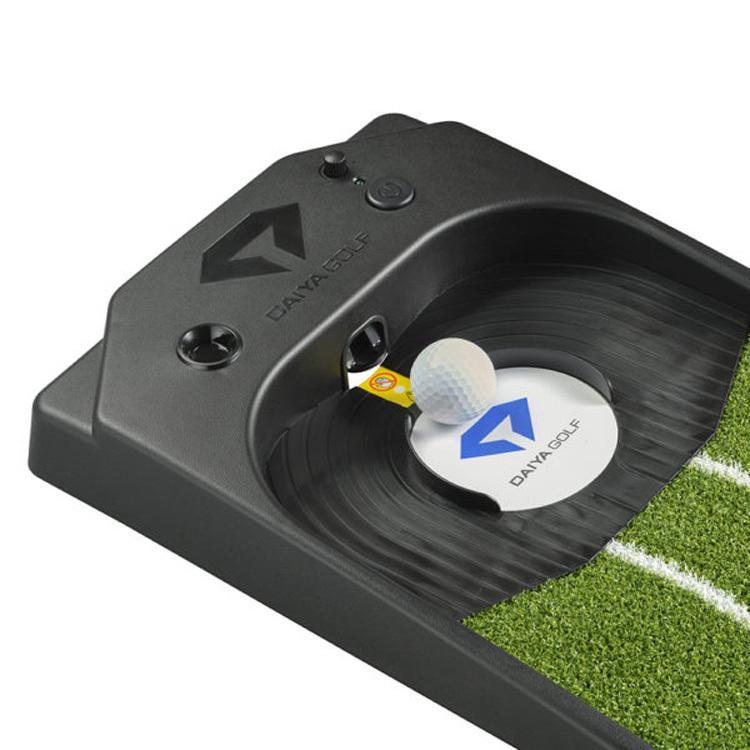 【在庫あり/即納】ダイヤゴルフ 2020モデル パター練習マット オートパットHD TR-478 静音オートリターン remt|golfshop-champ|06