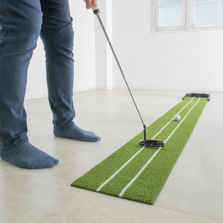 【在庫あり/即納】ダイヤゴルフ 2020モデル パター練習マット オートパットHD TR-478 静音オートリターン remt|golfshop-champ|08