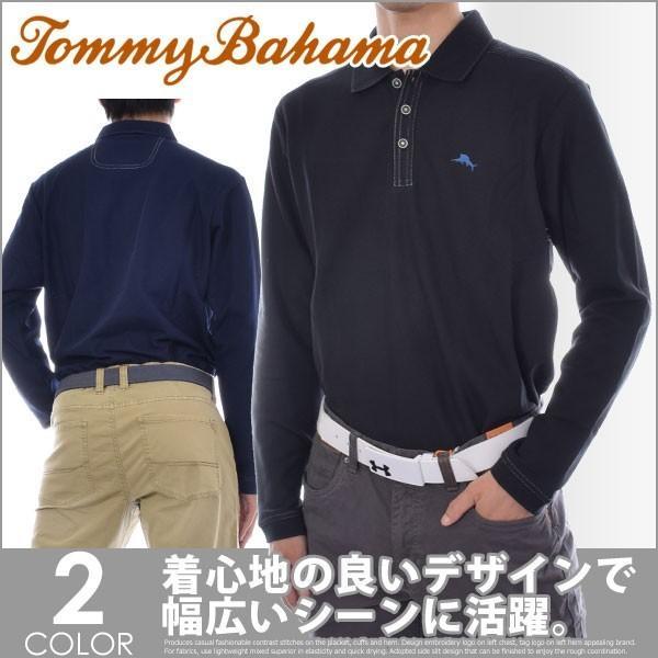 (厳選秋冬ウェア)秋冬メンズ ゴルフウェア TOMMY BAHAMA エンフィールダー 長袖ポロシャツ 大きいサイズ 秋冬ウェアー あすつく対応