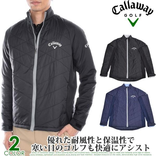 (厳選秋冬ウェア)キャロウェイ パフォーマンス キルト 長袖ジャケット 大きいサイズ 秋冬ウェア あすつく対応