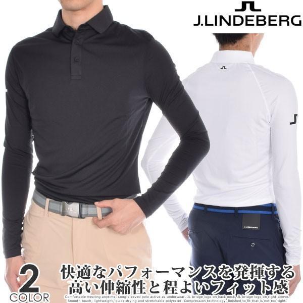 (厳選秋冬ウェア)ジェイリンドバーグ オーティス スリムフィット 長袖ポロシャツ 大きいサイズ 秋冬ウェア あすつく対応