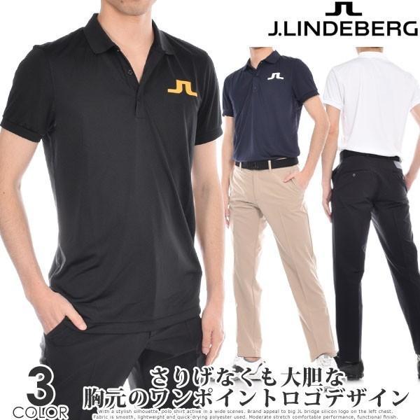 Jリンドバーグ J LINDEBERG ビッグ ブリッジ レギュラー TX ジャージー 半袖ポロシャツ 大きいサイズ USA直輸入 あすつく対応